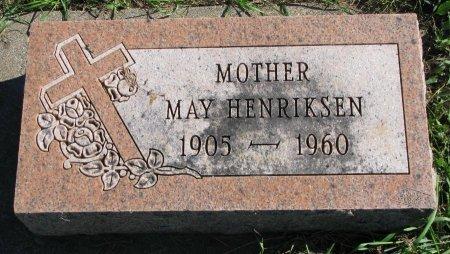 HENRIKSEN, MAY AGNES JOHANNA  - Union County, South Dakota | MAY AGNES JOHANNA  HENRIKSEN - South Dakota Gravestone Photos