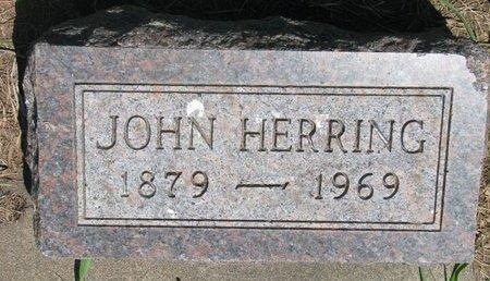 HERRING, JOHN - Union County, South Dakota | JOHN HERRING - South Dakota Gravestone Photos