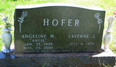 "BOELSON HOFER, ANGELINE M. ""ANGIE"" - Union County, South Dakota | ANGELINE M. ""ANGIE"" BOELSON HOFER - South Dakota Gravestone Photos"