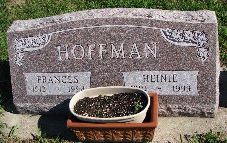 HOFFMAN, FRANCES - Union County, South Dakota | FRANCES HOFFMAN - South Dakota Gravestone Photos