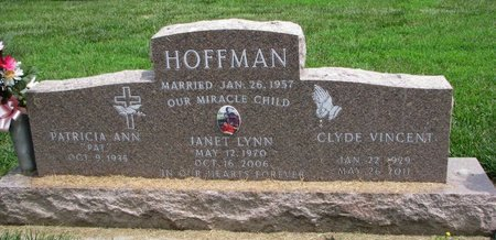 HOFFMAN, CLYDE VINCENT - Union County, South Dakota | CLYDE VINCENT HOFFMAN - South Dakota Gravestone Photos