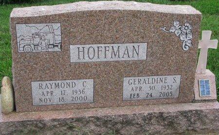 HOFFMAN, RAYMOND C. - Union County, South Dakota | RAYMOND C. HOFFMAN - South Dakota Gravestone Photos