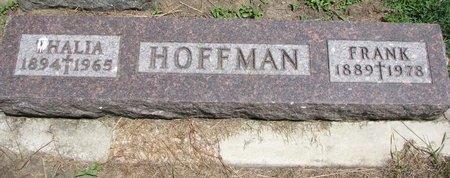 HOFFMAN, THALIA - Union County, South Dakota | THALIA HOFFMAN - South Dakota Gravestone Photos