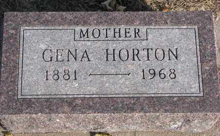 BJORGUM HORTON, GENA - Union County, South Dakota | GENA BJORGUM HORTON - South Dakota Gravestone Photos