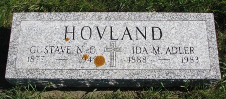 HOVLAND, GUSTAVE NICKOLAS CARLTON - Union County, South Dakota | GUSTAVE NICKOLAS CARLTON HOVLAND - South Dakota Gravestone Photos
