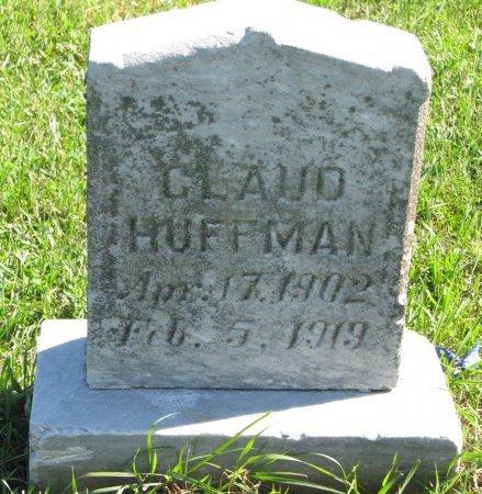 HUFFMAN, CLAUD - Union County, South Dakota   CLAUD HUFFMAN - South Dakota Gravestone Photos