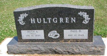 WILL HULTGREN, RUTH A. - Union County, South Dakota   RUTH A. WILL HULTGREN - South Dakota Gravestone Photos