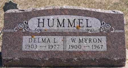 HUMMEL, W MYRON - Union County, South Dakota | W MYRON HUMMEL - South Dakota Gravestone Photos