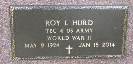 HURD, ROY LESTER (WORLD WAR II) - Union County, South Dakota   ROY LESTER (WORLD WAR II) HURD - South Dakota Gravestone Photos
