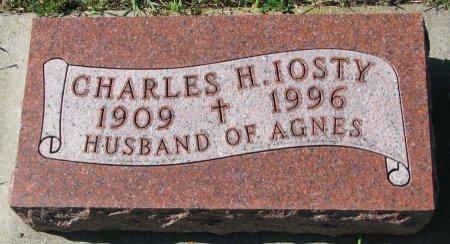 IOSTY, CHARLES H. - Union County, South Dakota   CHARLES H. IOSTY - South Dakota Gravestone Photos