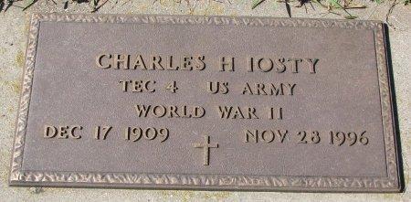 IOSTY, CHARLES H. (WORLD WAR II) - Union County, South Dakota | CHARLES H. (WORLD WAR II) IOSTY - South Dakota Gravestone Photos