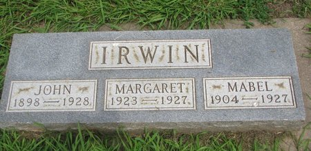 IRWIN, MABEL - Union County, South Dakota | MABEL IRWIN - South Dakota Gravestone Photos