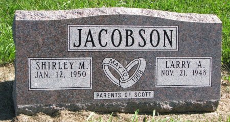 JACOBSON, SHIRLEY M. - Union County, South Dakota | SHIRLEY M. JACOBSON - South Dakota Gravestone Photos