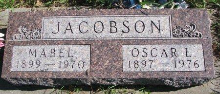 JACOBSON, MABEL - Union County, South Dakota | MABEL JACOBSON - South Dakota Gravestone Photos