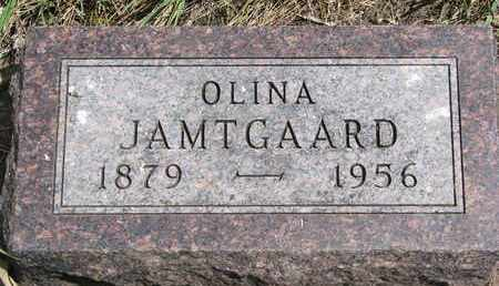JAMTGAARD, OLINA - Union County, South Dakota | OLINA JAMTGAARD - South Dakota Gravestone Photos