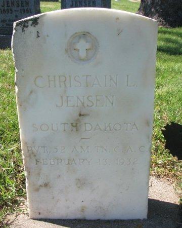 JENSEN, CHRISTAIN L. (WORLD WAR I) - Union County, South Dakota | CHRISTAIN L. (WORLD WAR I) JENSEN - South Dakota Gravestone Photos