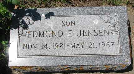 JENSEN, EDMOND E. - Union County, South Dakota | EDMOND E. JENSEN - South Dakota Gravestone Photos