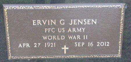 JENSEN, ERVIN G. (WORLD WAR II) - Union County, South Dakota | ERVIN G. (WORLD WAR II) JENSEN - South Dakota Gravestone Photos