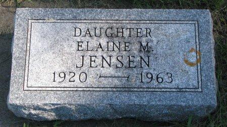 JENSEN, ELAINE M. - Union County, South Dakota | ELAINE M. JENSEN - South Dakota Gravestone Photos