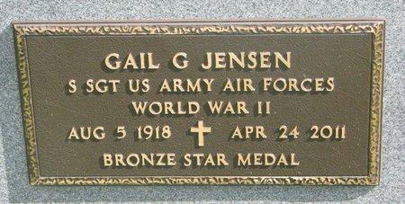 JENSEN, GAIL G. (WORLD WAR II) - Union County, South Dakota | GAIL G. (WORLD WAR II) JENSEN - South Dakota Gravestone Photos