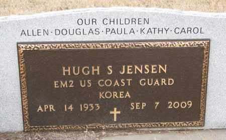 JENSEN, HUGH S. (KOREA) - Union County, South Dakota   HUGH S. (KOREA) JENSEN - South Dakota Gravestone Photos