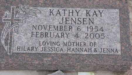 JENSEN, KATHY KAY - Union County, South Dakota | KATHY KAY JENSEN - South Dakota Gravestone Photos