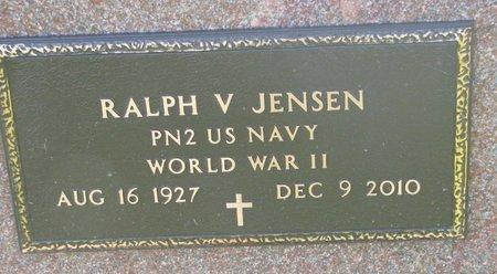 JENSEN, RALPH V. (WORLD WAR II) - Union County, South Dakota | RALPH V. (WORLD WAR II) JENSEN - South Dakota Gravestone Photos