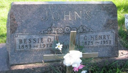 JOHNS, G. HENRY - Union County, South Dakota | G. HENRY JOHNS - South Dakota Gravestone Photos