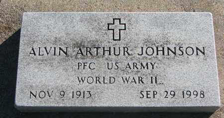 JOHNSON, ALVIN ARTHUR (WORLD WAR II) - Union County, South Dakota | ALVIN ARTHUR (WORLD WAR II) JOHNSON - South Dakota Gravestone Photos