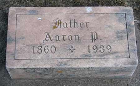 JOHNSON, AARON P. - Union County, South Dakota | AARON P. JOHNSON - South Dakota Gravestone Photos