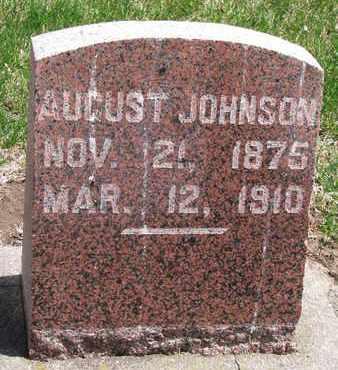 JOHNSON, AUGUST - Union County, South Dakota | AUGUST JOHNSON - South Dakota Gravestone Photos