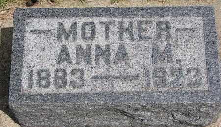 STAV JOHNSON, ANNA M. - Union County, South Dakota | ANNA M. STAV JOHNSON - South Dakota Gravestone Photos