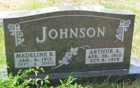 JOHNSON, ARTHUR A. - Union County, South Dakota | ARTHUR A. JOHNSON - South Dakota Gravestone Photos