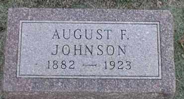 JOHNSON, AUGUST F. - Union County, South Dakota | AUGUST F. JOHNSON - South Dakota Gravestone Photos