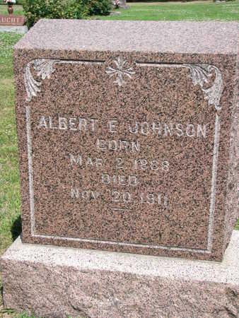 JOHNSON, ALBERT E. - Union County, South Dakota | ALBERT E. JOHNSON - South Dakota Gravestone Photos