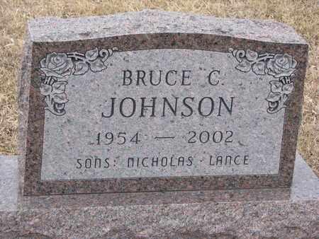 JOHNSON, BRUCE C. - Union County, South Dakota   BRUCE C. JOHNSON - South Dakota Gravestone Photos