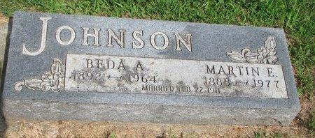 JOHNSON, BEDA ALVENA - Union County, South Dakota | BEDA ALVENA JOHNSON - South Dakota Gravestone Photos