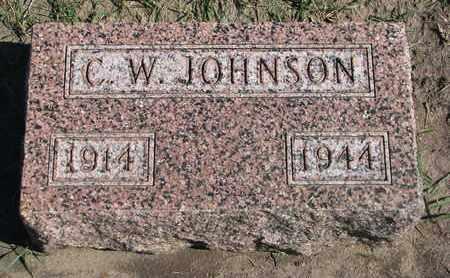 JOHNSON, C.W. - Union County, South Dakota | C.W. JOHNSON - South Dakota Gravestone Photos