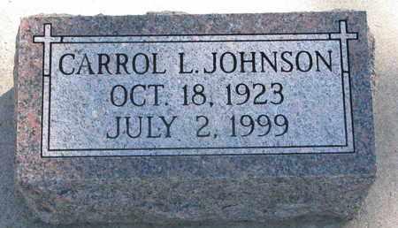 JOHNSON, CARROL L. - Union County, South Dakota | CARROL L. JOHNSON - South Dakota Gravestone Photos