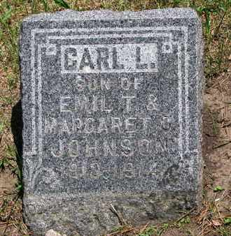 JOHNSON, CARL L. - Union County, South Dakota   CARL L. JOHNSON - South Dakota Gravestone Photos