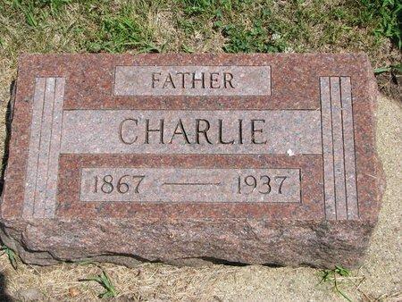 JOHNSON, CHARLIE - Union County, South Dakota | CHARLIE JOHNSON - South Dakota Gravestone Photos
