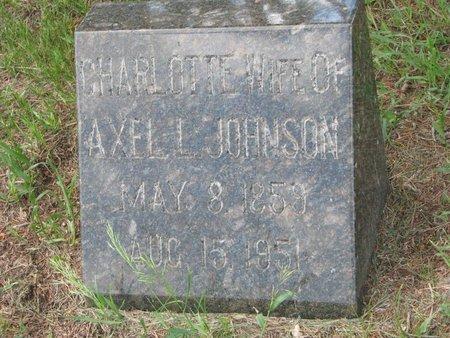 JOHNSON, CHARLOTTE - Union County, South Dakota | CHARLOTTE JOHNSON - South Dakota Gravestone Photos