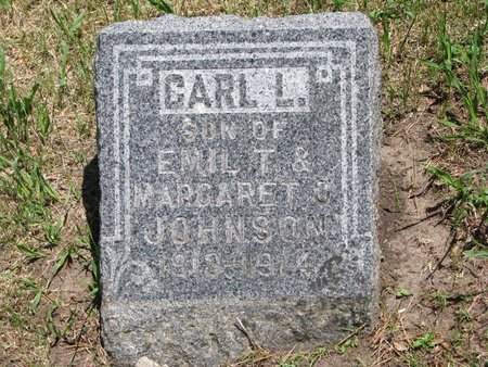 JOHNSON, CARL L. - Union County, South Dakota | CARL L. JOHNSON - South Dakota Gravestone Photos