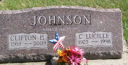 JOHNSON, CLIFTON H. - Union County, South Dakota | CLIFTON H. JOHNSON - South Dakota Gravestone Photos