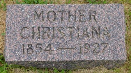 JOHNSON, CHRISTIANA - Union County, South Dakota   CHRISTIANA JOHNSON - South Dakota Gravestone Photos