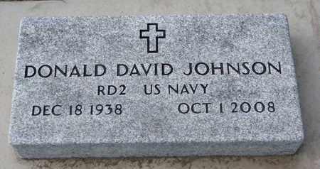 JOHNSON, DONALD DAVID (US NAVY) - Union County, South Dakota | DONALD DAVID (US NAVY) JOHNSON - South Dakota Gravestone Photos