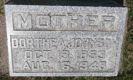 BERG JOHNSON, DORTHEA - Union County, South Dakota | DORTHEA BERG JOHNSON - South Dakota Gravestone Photos