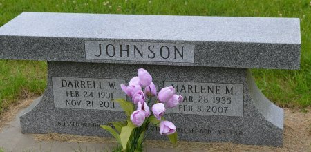 JOHNSON, DARRELL WAYNE - Union County, South Dakota   DARRELL WAYNE JOHNSON - South Dakota Gravestone Photos