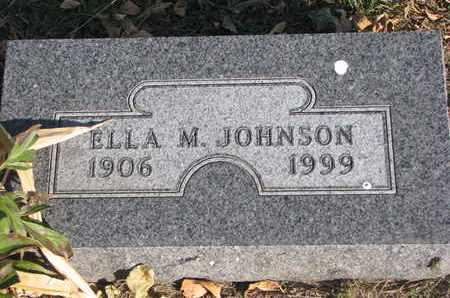 JOHNSON, ELLA M. - Union County, South Dakota   ELLA M. JOHNSON - South Dakota Gravestone Photos