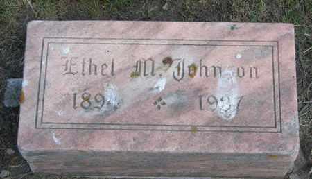 JOHNSON, ETHEL M. - Union County, South Dakota   ETHEL M. JOHNSON - South Dakota Gravestone Photos